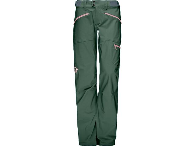 Norrøna Falketind Flex1 Pantalon Femme, jungle green
